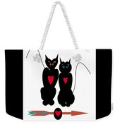 Cat Love Weekender Tote Bag