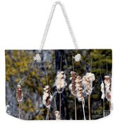 Cat O Eleven Tails Weekender Tote Bag