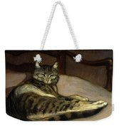 Cat On A Chair Weekender Tote Bag