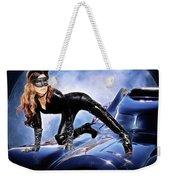 Cat On Bat Mobile Weekender Tote Bag