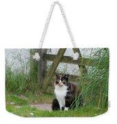 Farm Cat On Duty Weekender Tote Bag