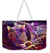 Cat Purr Kitten Pet Fur Feline  Weekender Tote Bag