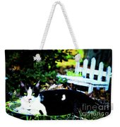Cat Tale Weekender Tote Bag