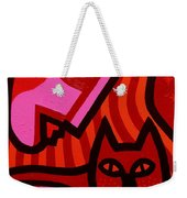 Cat Woman Weekender Tote Bag