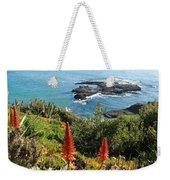 Catalina Island Coastline Weekender Tote Bag