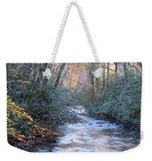Cataloochee Creek Weekender Tote Bag