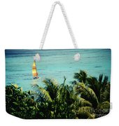 Catamaran On Tumon Bay Weekender Tote Bag