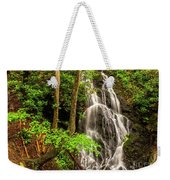 Cataract Falls In Great Smoky Mountains National Park Weekender Tote Bag