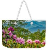 Catawba Rhododendron At The Craggy Weekender Tote Bag