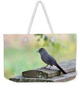 Catbird Calling Weekender Tote Bag