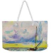 Catboat Weekender Tote Bag