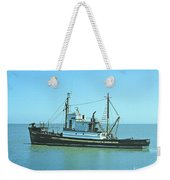 Catch Boat Allen Cody For Del Monte Fishing Co. Taken On July 5  Weekender Tote Bag