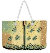 Catch The Cash Weekender Tote Bag