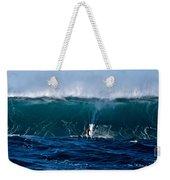 Catching A Big Wave, North Shore, Oahu Weekender Tote Bag