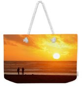 Catching A Setting Sun Weekender Tote Bag