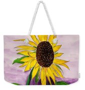 Catching A Sunflower  Weekender Tote Bag