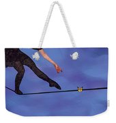 Catching Butterflies Weekender Tote Bag by Steve Karol