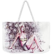 Catching Ray Weekender Tote Bag