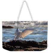 Catching Rays At The Beach Weekender Tote Bag