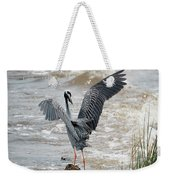 Catching The River Breeze Weekender Tote Bag