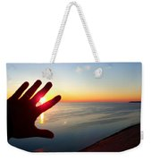 Catching The Sunset At Sleeping Bear Weekender Tote Bag