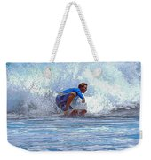 Catching The Wave Weekender Tote Bag