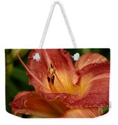 Catching Water Drops Weekender Tote Bag