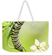 Caterpiller On Plant Weekender Tote Bag