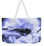 Catfish Blue Weekender Tote Bag