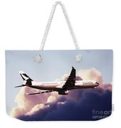 Cathay Pacific Airbus A330-343 Weekender Tote Bag