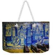 Cathedral Azulejos Weekender Tote Bag