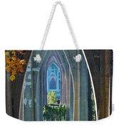 Cathedral Columns Of The St. Johns Bridge Weekender Tote Bag
