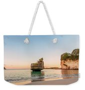 Cathedral Cove, New Zealand Weekender Tote Bag
