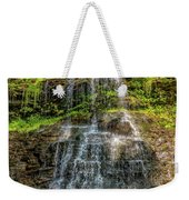Cathedral Falls 3 Weekender Tote Bag