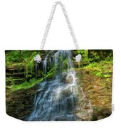 Cathedral Falls - Paint Weekender Tote Bag