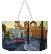 Cathedral From Campo Del Sur Cadiz Spain Weekender Tote Bag
