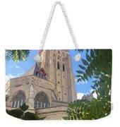 Cathedral In Brugge Weekender Tote Bag
