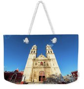 Cathedral In Campeche Weekender Tote Bag