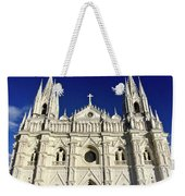 Cathedral In El Salvador Weekender Tote Bag