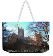 Cathedral In The Fall Travel Weekender Tote Bag
