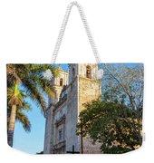 Cathedral In Valladolid Weekender Tote Bag