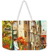 Cathedral Jazz Weekender Tote Bag