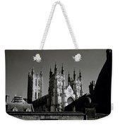 Cathedral Of Canterbury Weekender Tote Bag