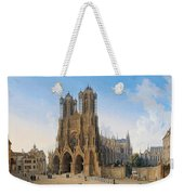 Cathedral Of Notre-dame At Reims Weekender Tote Bag