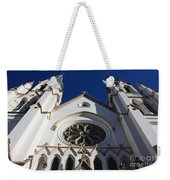 Cathedral Of St John The Babtist In Savannah Weekender Tote Bag