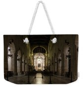 Cathedral Of Syracuse - Duomo Di Siracusa - An Ancient 2500 Years Old Greek Temple Weekender Tote Bag
