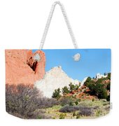 Cathedral Rock In Garden Of The Gods Park Weekender Tote Bag
