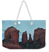 Cathedral Rock Moon 081913 E2 Weekender Tote Bag