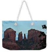 Cathedral Rock Moon 081913 G Weekender Tote Bag