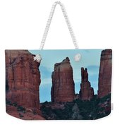 Cathedral Rock Moon 081913 H Weekender Tote Bag